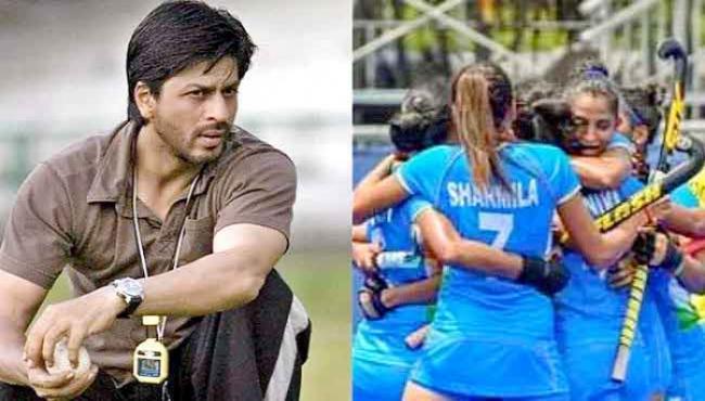 Shah Rukh Khan Asks Womens Hockey Team To Bring Some Gold Coach Tweet - Sakshi