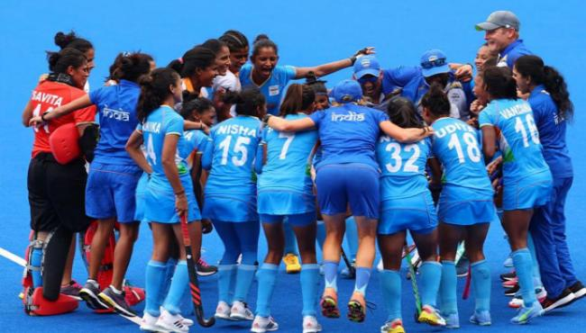 Tokyo Olympics Indian Women Hockey Team Celebrations After Defeating Australia - Sakshi