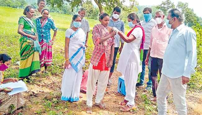 Telangana: Special Drive For Corona Vaccines Was Disrupted - Sakshi