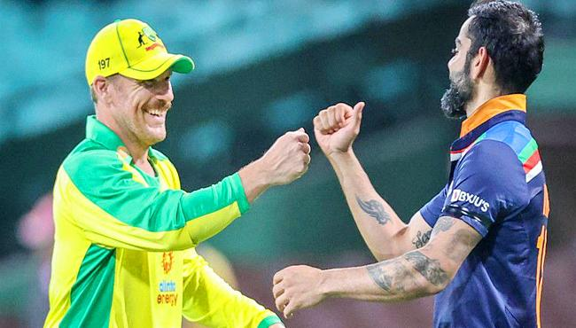 T20 World Cup 2021:India vs Australia warm up match will take place on October 20 - Sakshi