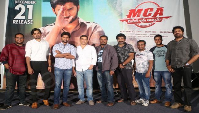 MCA Movie Trailer Launch - Sakshi