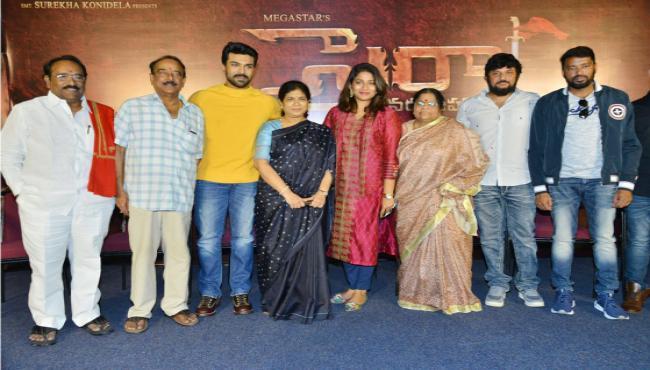 Syeraa Narasimha Reddy Teaser Launch Photo Gallery - Sakshi
