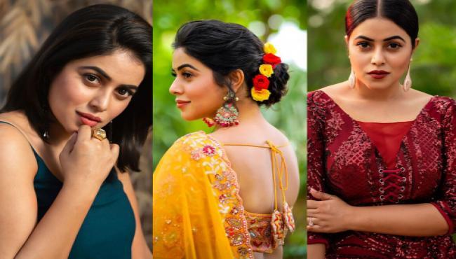 Actress Poorna Glamorous Photo Gallery - Sakshi