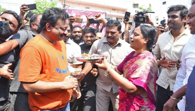 Ram Gopal Varma New Movie Konda Opening Photo Gallery - Sakshi