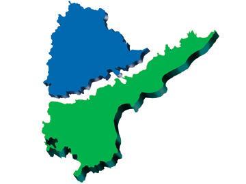తెలంగాణ- సీమాంధ్ర మ్యాప్ - Sakshi