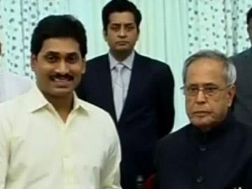 రాష్ట్రపతిని కలిసిన వైఎస్ జగన్ - Sakshi