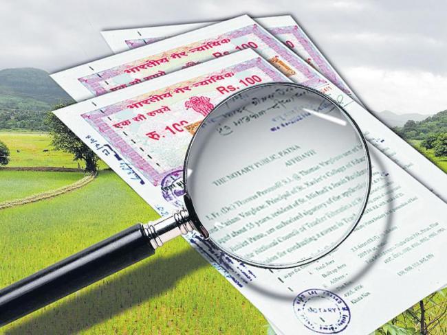 more mistakes telangana land survey records - Sakshi