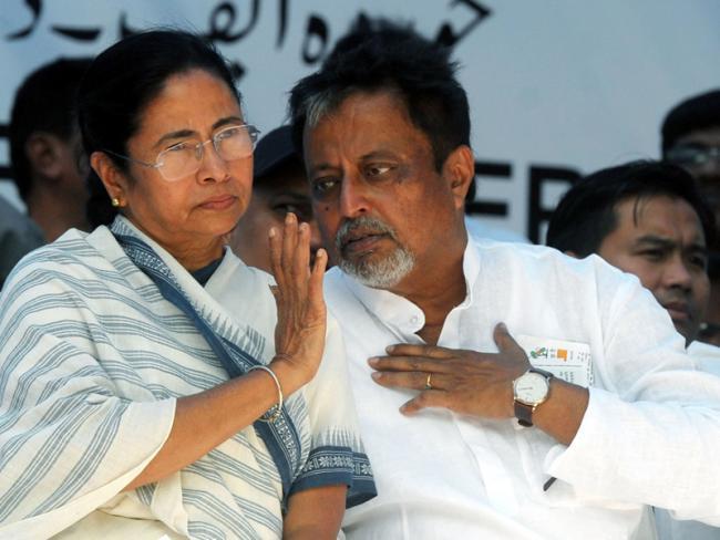 Mukul Roy Quits Trinamool