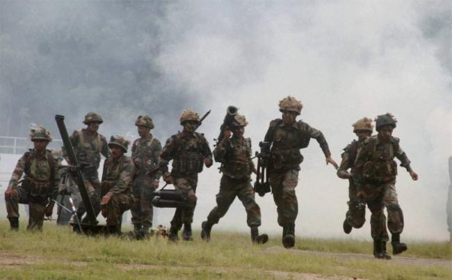 Indian Army strikes on Naga militants
