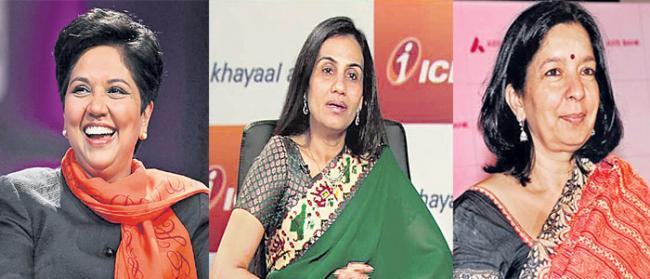 Indra Nooyi, Chanda Kochhar, Shikha Sharma on Fortune most powerful business women list