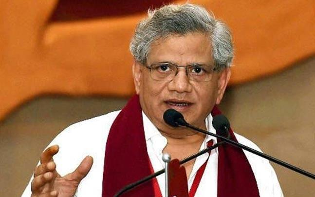 CPM Leader Sitaram Yechury criticize the state and Central Governments - Sakshi