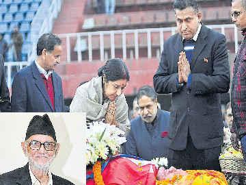 నేపాల్ మాజీ ప్రధాని సుశీల్ కొయిరాలా కన్నుమూత - Sakshi