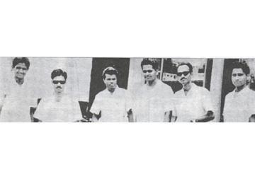 దిగంబర కవులు నిఖిలేశ్వర్, భైరవయ్య, నగ్నముని, జ్వాలాముఖి, చెరబండరాజు, మహాస్వప్న (ఫైల్) - Sakshi