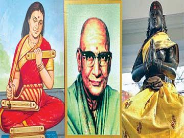మూడు స్మారక తపాళా బిళ్లలు - Sakshi