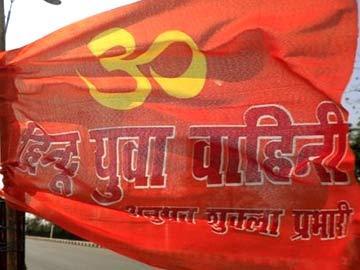 చర్చిలో సీఎం యోగి సేన హల్చల్