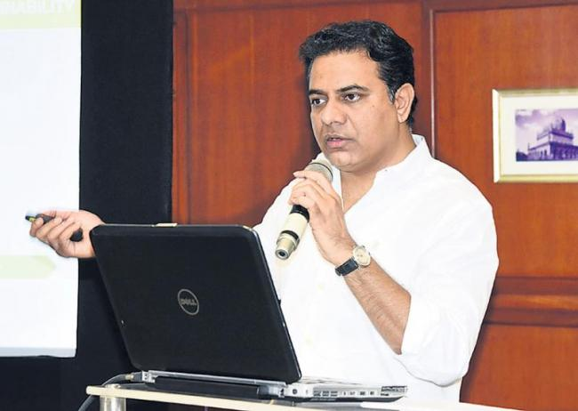 KTR comments about kcr