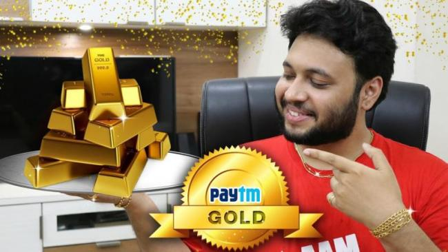 Paytm eyes 5-fold growth in gold sales on Dhanteras, Diwali