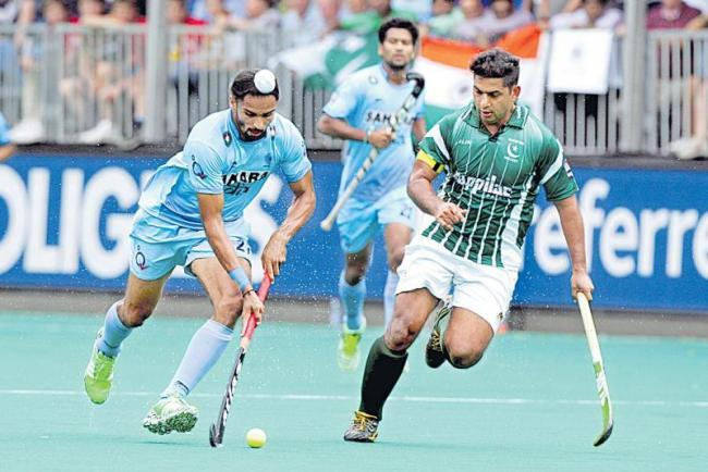 today India and Pakistan are in the Asia Cup hockey