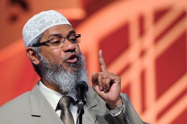 malaysia : Zakir Naik national threat   - Sakshi