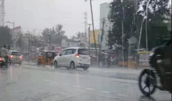heavy rains intimation to coastal area