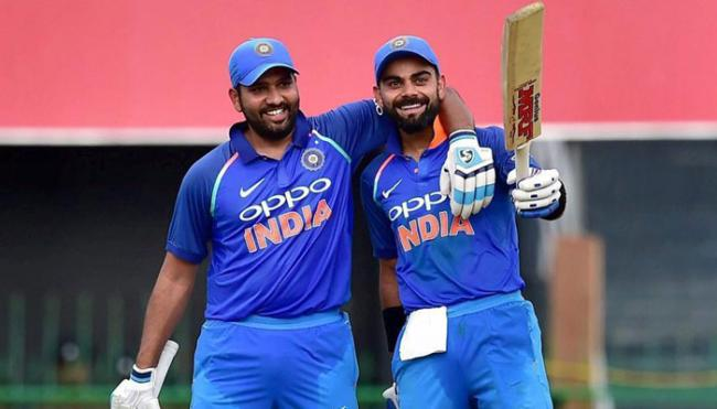 Rohit Sharma back in top-5, Virat Kohli stays No1 - Sakshi