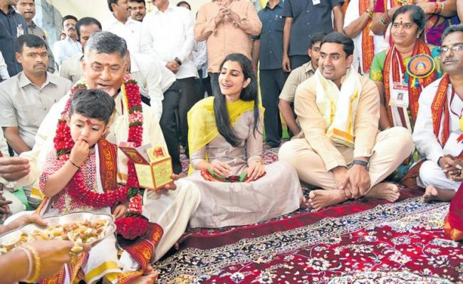 Cm chandrababu about his prayer to the god - Sakshi
