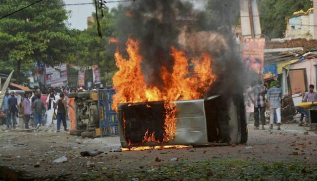Communal clashes in UP, Bihar, Jharkhand