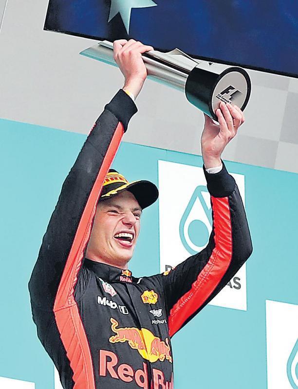 Max Verstappen wins Malaysian Grand Prix