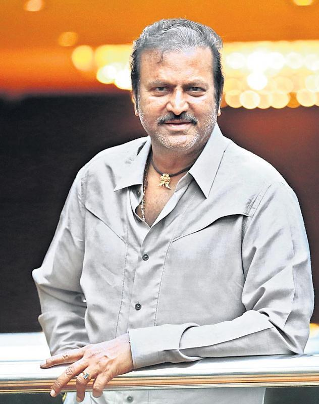 Mohan Babu is an MGR doctorate