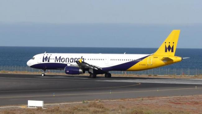 Travelers stranded as UK's Monarch Airlines suspends flights