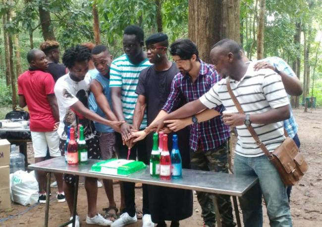 Nigeria grand celebrations Independence Day in india