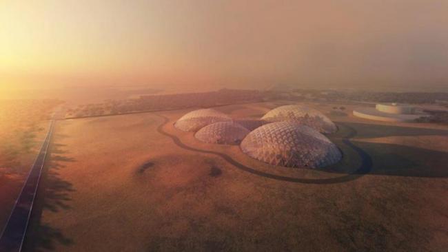 Mars Science City at uae