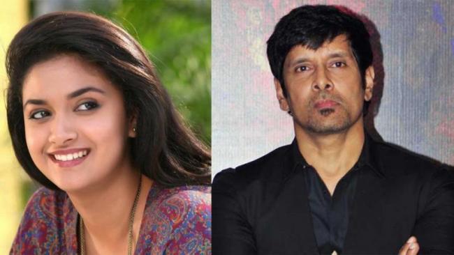 Vikram and Keerthy Suresh begin work on the sequel