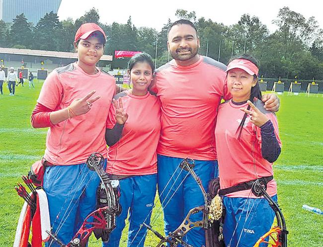 India got silver medal in World archery championship
