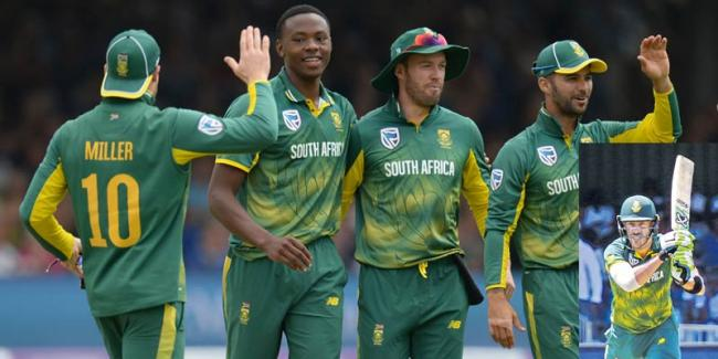 3rd ODI: South Africa Trounce Bangladesh By 200 Runs, Win Series 3-0