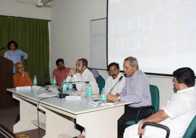 National Sessions in tamilnadu for attacks on media