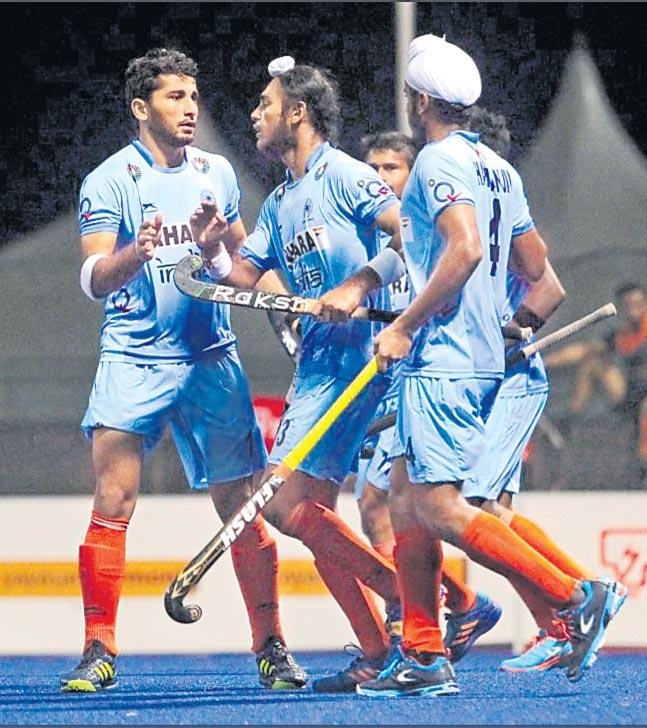 Sultan Johar Cup Hockey Tournament india win one more match