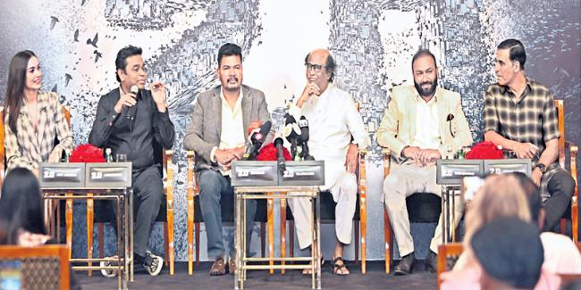 Revelations from 2.0 press meet: Why Rajinikanth is so simple and Akshay Kumar's role