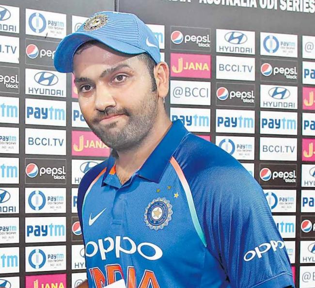 Rohit Sharma has joined the ICC rankings in a better position - Sakshi
