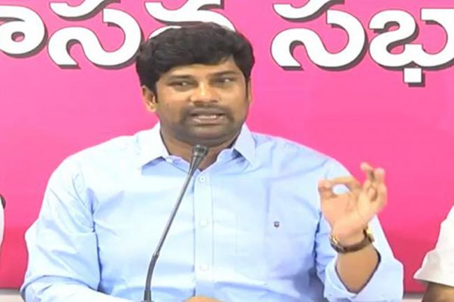 MP Balka Suman speaks on TBGKS Wining - Sakshi