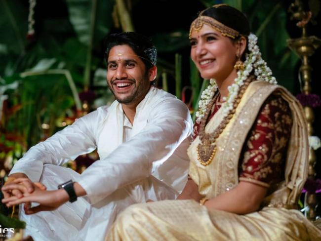Celebrities wish Naga chaitanya Samantha lifetime of happiness