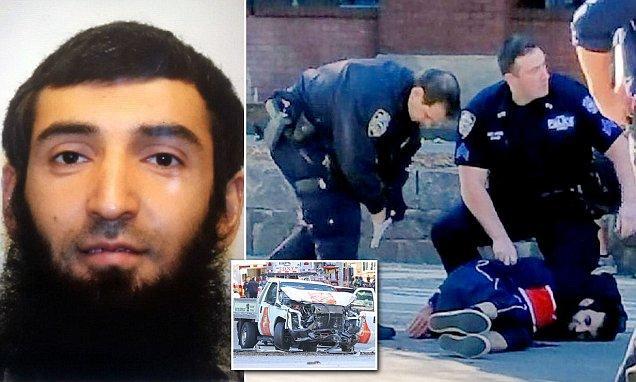 8 Dead as Truck Careens Down Bike Path in Manhattan in Terror Attack