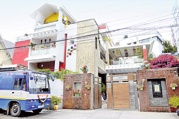 no settigs for a home shoots in city