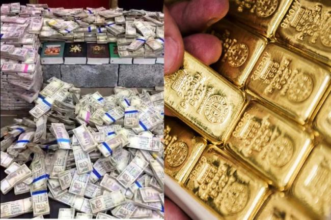 Rs 87 crore in cash, 2,600 kg gold and silver detected at airports after note ban - Sakshi