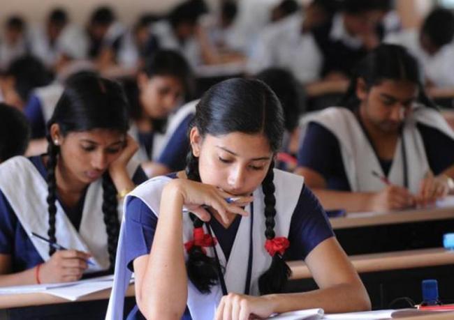 Kgbv School Girls Tention on Tests Written in English Medium - Sakshi
