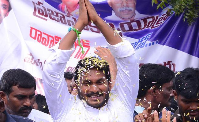 YS Jagan PrajaSanKalpaYatra continuous at Mydukur constituency - Sakshi
