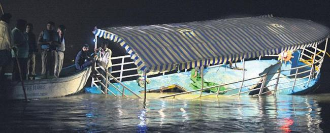 Over action of of Private Boat Operators - Sakshi