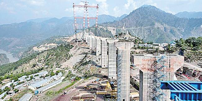 World's highest rail bridge on Chenab river can stand quakes, blasts - Sakshi