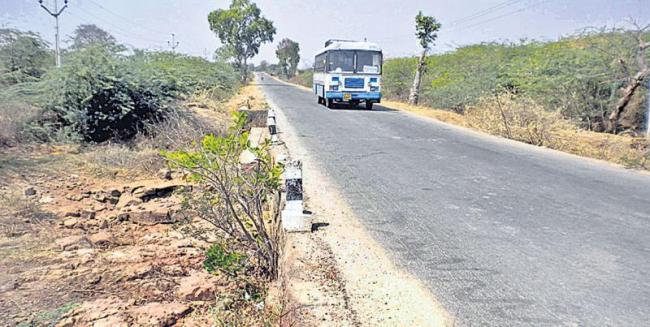 Construction of bt roads with Rs. 450 crores - Sakshi