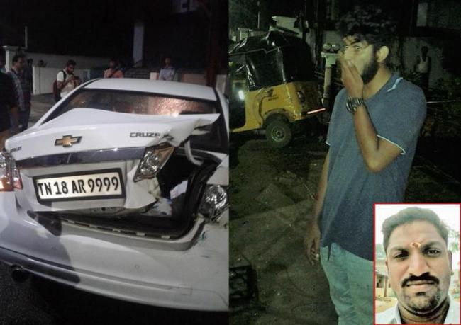 Drunk students ram autos, one killed - Sakshi